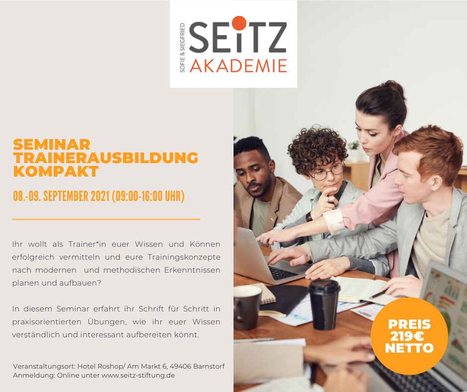 Seminar – Trainerausbildung kompakt