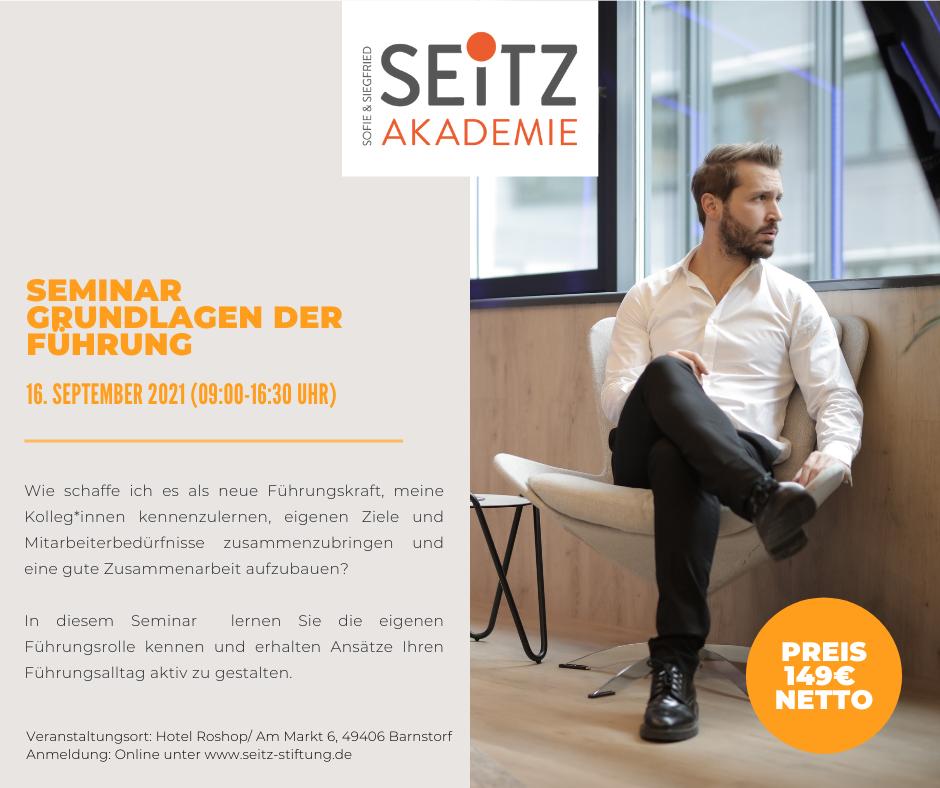 Seminar – Grundlagen der Führung