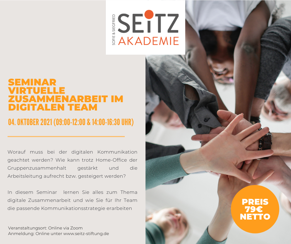 Seminar – Virtuelle Zusammenarbeit im digitalen Team